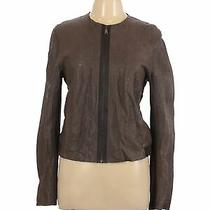 Elie Tahari Women Brown Jacket L Photo