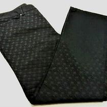 Elie Tahari Womens 5 Pocket Black Textured Jeans Size 10 Photo