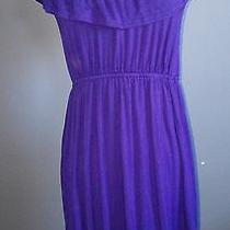 Ella Moss Blue Dress Sz Medium Free Shipping Photo