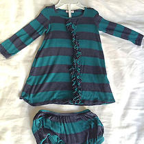 Ella Moss Dress With Matching Diaper Cover in Size 12-18 Months Photo