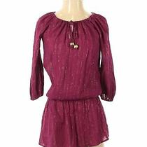 Ella Moss Exclusively for Piperlime Women Pink Casual Dress Xs Photo