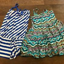 Ella Moss Girls  Us Size 4/5  Mixed Lot Multi Color Dress and Romper Size Small Photo
