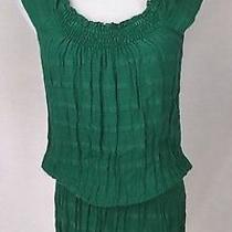 Ella Moss Green Dress Medium Photo