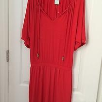 Ella Moss Red Dress Size M Photo