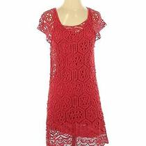Ella Moss Women Red Casual Dress Xs Photo