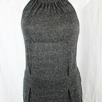 Ella Moss Women's Gray Sleeveless Back Zip Top Shirt Blouse Size Xs Photo
