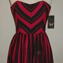 Ella Moss Womens Dress Ringo Strapless Sweetheart Corset Sz Sm Nwt 198.  Photo