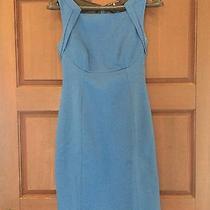 Ella Tahari Blue Dress Photo