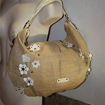 Elle - Felicity Floral & Studs Straw Hobo Handbag - Fabulously Trendy & Stylish Photo