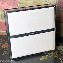 Ellen Tracy Baby Pink Black Silver Logo Cosmetic Makeup Hard Box Case Container Photo