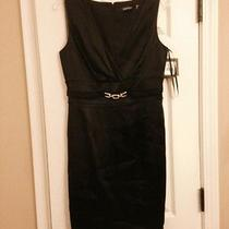 Ellen Tracy Beautiful Black Dress Brand New Photo