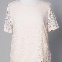 Ellen Tracy Flower Lace Top Photo
