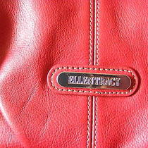 Ellen Tracy Leather Handbag/purse  Red   Free the Game of Thrones Book Photo