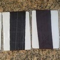 Ellen Tracy New in Bag Lot of 4 Assorted Trouser Socks One Size Fits All. Photo