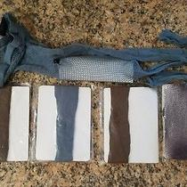Ellen Tracy Nib Lot of 5 Fishnet Style Leg Wear 2 Tights 3 Trouser Socks S/m. Photo