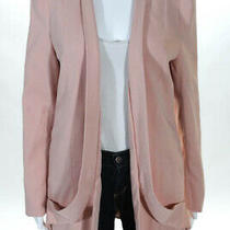 Elliatt Pink Blush Open Front Blazer Jacket 180 Size Small 10190964 Photo