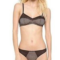 Else Lingerie Fishnet Triangle Soft Bra Extra Small Brand New Xs Photo