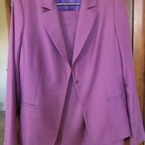 Elue Tahari 2piece Suit Jacket Size 8 Skirt Size 10 Photo