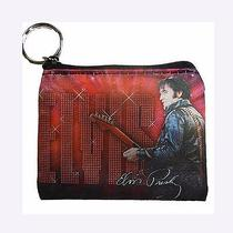 Elvis Key Chain /coin Purse '68 Name in Lights Nwt Photo
