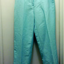 Emma James Dress Capris in an Aqua Color Sz 10 P Photo