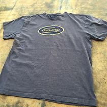 Emory Distressed Grunge Gray Jansport T Shirt - Men's Large Photo
