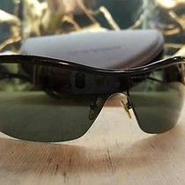 Emporio Armani 9248 Mens Sunglasses in Black Color  Original Case Photo