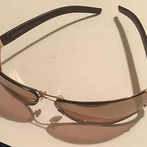 Emporio Armani Bronze Colored Sunglasses With Black Hard Case Photo