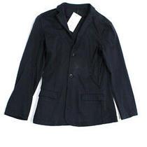 Emporio Armani Childrens Boys Unlined Jersey Blazer Navy Blue Size 14 Photo