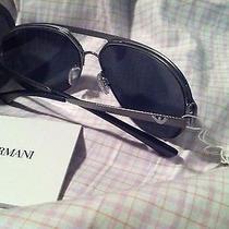 Emporio Armani Ea2004 Aviator Sunglasses  Designer Modern  Photo