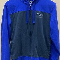 Emporio Armani Ea7 Mens Hooded Zip Sweatshirt M Photo