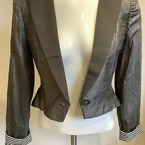 Emporio Armani Italian Designer Ladies Jacket Cardigan Size 8 Wedding Spring Hol Photo