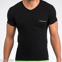 Emporio Armani Men's Eagle Stretch Cotton T-Shirt - Size M Photo