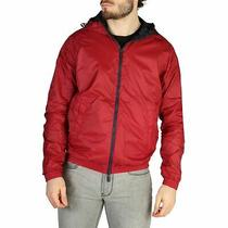 Emporio Armani Men's Reversible Jacket Blue-Red