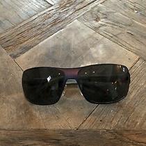 Emporio Armani Mens Gray Blue Sunglasses With Case & Certificate of Authenticity Photo