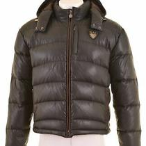 Emporio Armani Mens Padded Jacket Size 38 Medium Black Piumone  In24 Photo