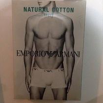 Emporio Armani Natural Cotton Trunk Photo