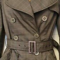 Emporio Armani Padded Trench Coat. Size Xs Photo