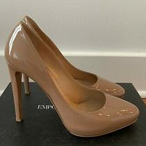Emporio Armani Patent Leather Pumps With Stiletto Heel Size 40 Photo