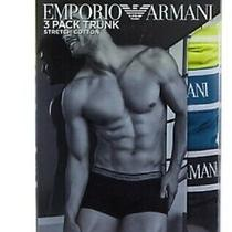 Emporio Armani Stretch Trunk Underwear Sz S or  M  111357-Nwt Photo