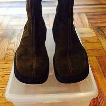 Emporio Armani Suede Boots Photo