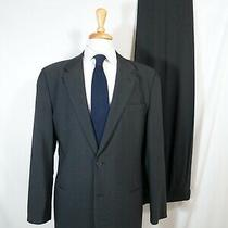 Emporio Armani Suit 44r Made in Italy Charcoal Coat & Pants Photo