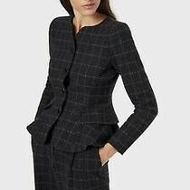 Emporio Armani Women's Black Blazer Pant Suit Size 40 42 Photo