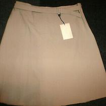 Emporio Armani Wool Pencil Skirt Sz-46 Photo