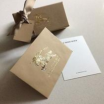 Empty Burberry Small Gift Box Photo