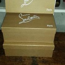 Empty Christian Louboutin Shoe Box Boxes Photo