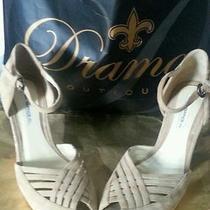 Ends 9/6 Women's 8.5 M Wedges via Spiga 8 1/2 Platform Shoes Heels 8.5  Sandals Photo
