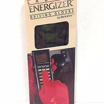 Energizer Driving Gloves by Berkshire Ladies One Size Dark Brown Unlined Nib Photo