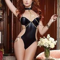 Enslaved Passion Teddy 9154 by Dreamgirl Black One Size Fits All Photo