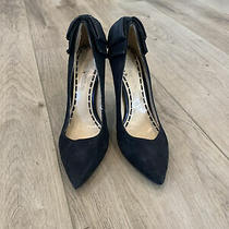Enzo Angiolini Black Pumps With Bow Size 4 Photo