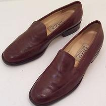 Enzo Angiolini Brown Leather Shoes Women's Flats  Size 6 M Very Little Wear Photo